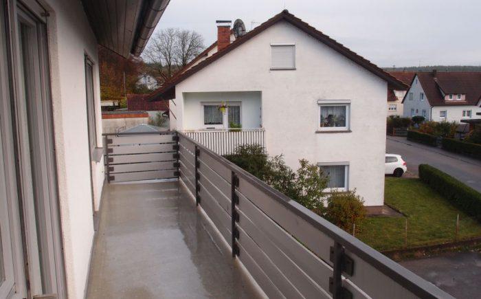 Eigentumswohnung Gundelsheim Balkon