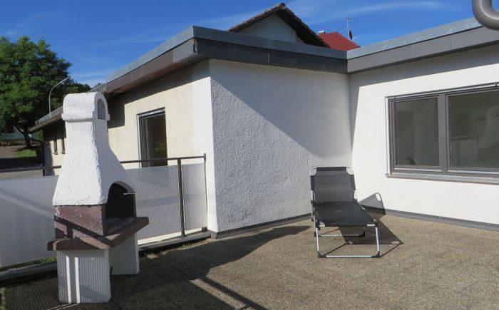 Eigentumswohnung Gundelsheim Terrasse