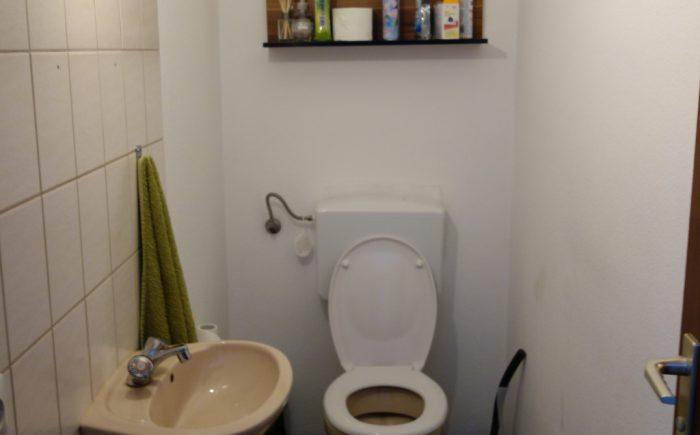 Gäste-WC Eigentumswohnung Steinheim